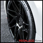 20 BLAQUE DIAMOND BD3 CONCAVE BLACK WHEELS RIMS FITS INFINITI G35 COUPE