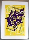 Stereolab 1997 Mouse On Mars Art Chantry Modern Signed Print Poster 16x22 NM