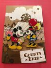 Disney Catalog Pins set of 2 Country Fair Mickey  Minnie Mouse LE 1500