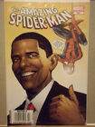 MARVEL THE AMAZING SPIDER MAN 583 OBAMA NEWSSTAND VARIANT