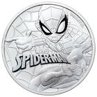 2017 Tuvalu Marvel Series Spider-Man 1 oz. Silver $1 Coin In Mint Cap SKU48149