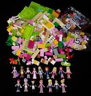 LEGO Over 1 lb Lot of Friends Figures  Blocks Nice