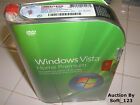 Microsoft Windows Vista Home Premium Full 32 Bit DVD MS WIN BRAND NEW BOX
