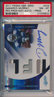 2011 Panini Absolute Mem. Rookie Premiere Material Auto 25 DeMarco Murray PSA 8