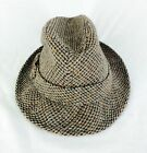 Dobbs Fifth Avenue New York Vintage Tweed Classic Fedora Hat Hipster Mens 6 3 4