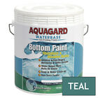 Aquagard Waterbased Anti Fouling Bottom Paint 1Gal Teal