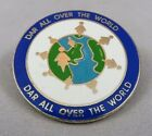 Daughters of the American Revolution DAR All Over The World Pin