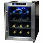 NewAir 12-Bottle Stainless Steel Wine Cooler NEW
