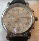 MONTBLANC STAR GMT Automatic Chronograph Watch. Excellent Condition Retail $3200