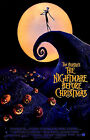 TIM BURTON The Nightmare Before Christms Promo Poster Mint- 1993 ORIGINAL! 18x27