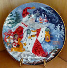Fitz and Floyd Father Frost and the Celebration of Winter Collector Plate