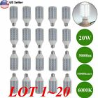 Lot 125W Eq LED Bulb 90 Chip Corn Light E26 5000lm 20W Cool Daylight 6000K SK
