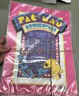 Vintage Pac Man Book Covers (7) 14x22 Midway 1980 NEW Plymouth 8290
