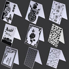 Various Designs Plastic Embossing Folders Template DIY Scrapbooking Cards Crafts