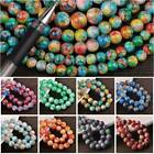 Wholesale Bulk 6mm 8mm 10mm 12mm Round Charms Glass Loose Spacer Beads Findings