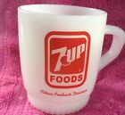 RARE 7UP MUG Fire King Anchor Hocking