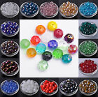 Wholesale Rondelle Faceted Crystal Glass Loose Spacer Big Beads 12 14 16 18mm