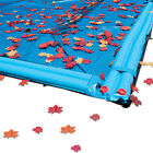 30 x 50 BLACK Rectangle In Ground Swimming Pool Winter Cover Leaf Net