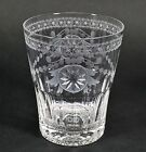 William Yeoward Crystal Pearl Double Old Fashioned Glass Excellent