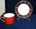 VINTAGE FITZ & FLOYD RAMSES CUP AND SAUCER SET  1977