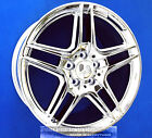 MERCEDES E350 E500 E550 SEDAN AMG 18x90 INCH REAR CHROME WHEEL RIM E 350 550