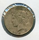 1923-S United States $1 Peace Silver Dollar Raw Coin JE386