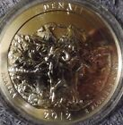 2012 5 oz Silver ATB Coin Denali Alaska America the Beautiful