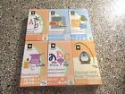 Cricut Cartridge Lot Graphically Speaking Designers Calendar Alphabet Doodle