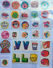 Vintage Scratch and Sniff Stickers 1980s Rare Trend Mello Smello Matte Glossy
