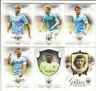 2016 Futera Unique Man City Complete Base Set 1-50 50 Cards Box, Certificate Set