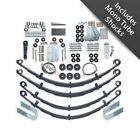 Rubicon Express RE5520M 45 Leaf Spring Lift Kit w Shocks for 87 95 Wrangler