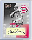 2001 DONRUSS SIGNATURE SERIES TOM SEAVER TEAM TRADEMARKS AUTO SIGNATURE SSP 6 25