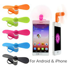 1PCS Micro USB Cooling Fan Mute Mini Cooler For Mobile Android Cell Phone