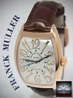 Franck Muller 18k Rose Gold Cintree Curvex Relief Automatic Watch 8880 SC
