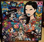 NWT Tokidoki SDCC Comic Con 2017 Premiere Sea Punk Vinyl Tote Bag Unicorno