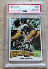1975 TOPPS #367 DAN FOUTS SIGNED ROOKIE CARD RC HOF 93 PSA NM 7 AUTO 10