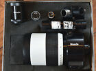 Meade 1000mm F11 D90 Mirror Reflective Telescope LENS + FILLED CASE Parts only