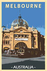 Iconic Melbourne City Scenic Travel Print Limited Edition of 250 Signed Artwork