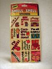 Sealed Vintage MELLO SMELLOS Smell  Spell Stickers Phrases