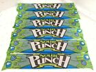Sour Punch Straws Blue Raspberry Lot 6 Chewy Taffy Candies Candy 2oz ea BFR