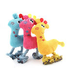 Pet Plush Toys Dog Chew Toys Pet Cats Cute Biting Sound Squeaky Toys Deer Design