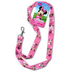 Disney Minnie Mouse Trading Pin Keychain Lanyard 18 Pink Bowtique Ages 4+ Gift