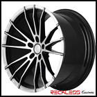 20 CONCEPT ONE CSM01 WHEELS BLACK CONCAVE RIMS Fits CHRYSLER 300 300C