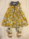 Baby Toddler Girls Old Navy Dress 12 18 Months  Shoes Sz 4 Lot EEUC