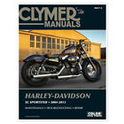 CLYMER 2004-2009 Harley-Davidson XL1200C Sportster 1200 Custom REPAIR MANUAL M42
