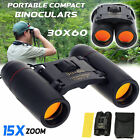 Portable Pocket Binoculars Folding Compact 30 x 60 Small Travel Telescope USA