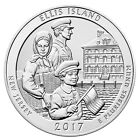 2017 Ellis Island 5 oz Silver ATB America Beautiful Coin GEM BU Coin SKU48472