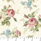 Vintage Rose Small Bouquet on Ivory 21553 11 Cotton Fabric by Northcott