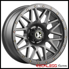 18x9 KLUTCH KT02 OFFROAD WHEELS GUNMETAL 6x1397 RIMS FITS 01 07 TOYOTA SEQUOIA