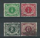 Ireland J1-4 SG D1-4 Used F/VF 1925 SCV $84.00